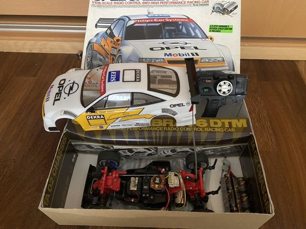 Opel Calibra V6 DTM 1/10 R/C 4 AWD carro corrida