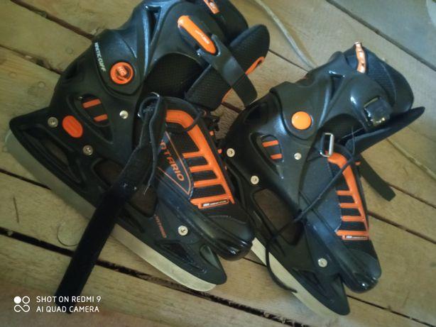 Nowe łyżwy hokejowe