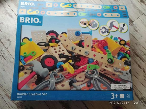 Klocki BRIO 34589 zestaw konstrukcyjny - majsterkowicza, 271 elementów