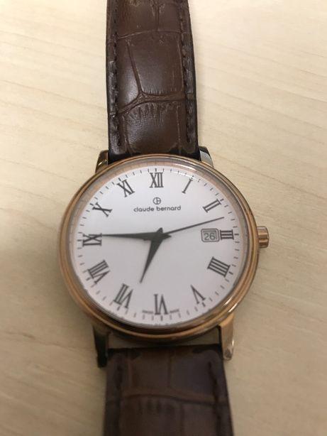Швейцарские мужские наручные часы Claude Bernard 53007 оригинал