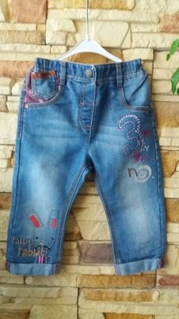 Next джинсы 12-18мес.