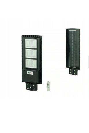 Duże lampy solarne uliczne LED na słońce moc 120wat