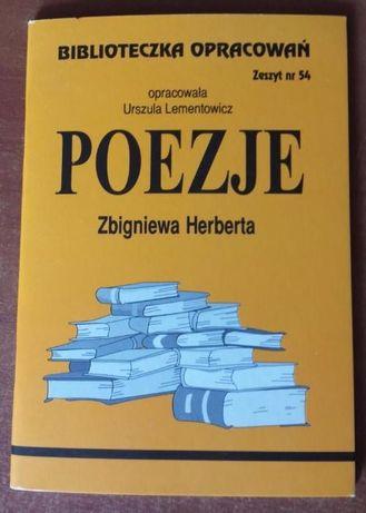 Poezje Herberta opracowania