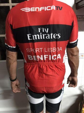 Fato do benfica ciclismo