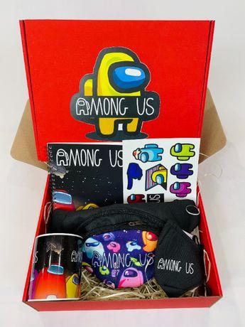 Among Us набор - Подарочный Бокс Амонг Ас Maxi Box Подарок для девочки