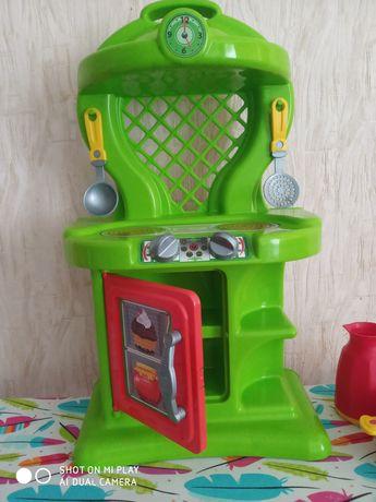 Кухня іграшкова. Посуд в подарунок.