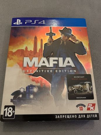 """Mafia Definitive Edition (РS4)"" Диск Русская озвучка"