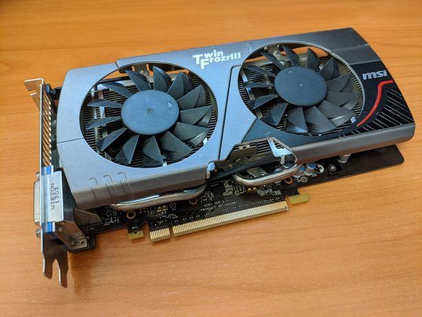 Видеокарта MSI GeForce GTX 660 2GB GDDR5 Twin Frozr