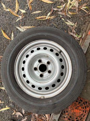 Диск R15 С з резиною 205/65 до буса VW T5 запаска