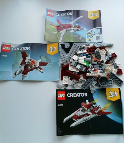 LEGO Creator 31086 Avião Futurista