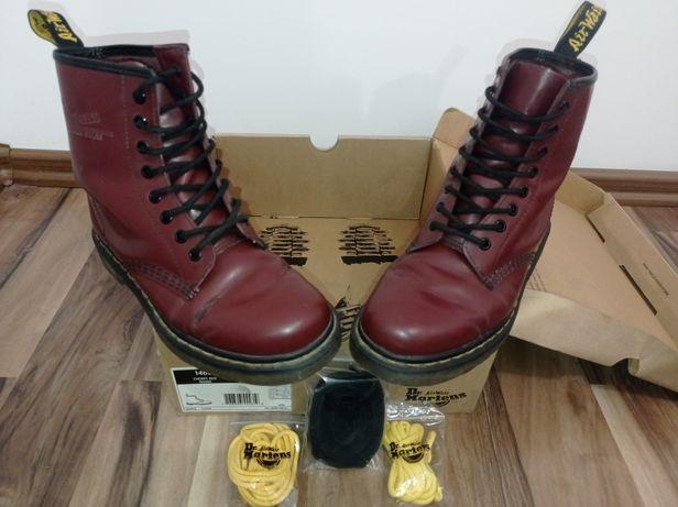 Oryginalne buty Dr. Martens 1460 Cherry Red Rouge r. 38 + 3x sznurówki