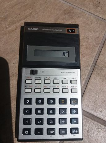 Kalkulator Casio Fx-7 1982 Japan