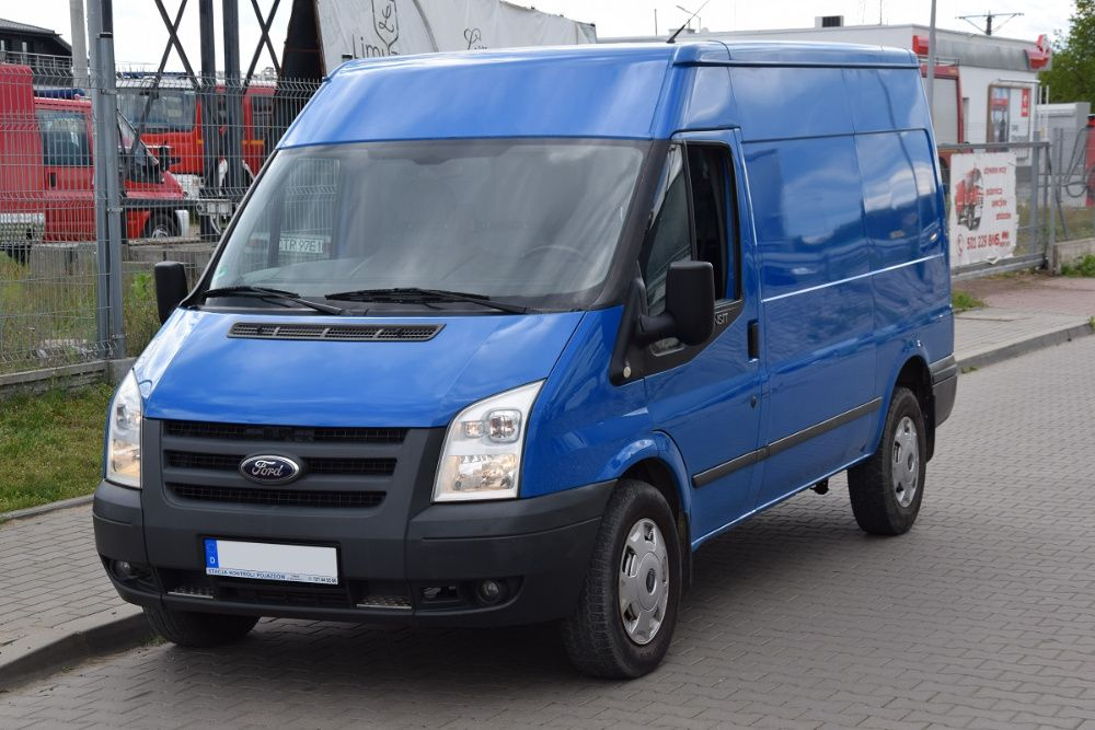 Ford Transit T350 2.4 TDCI 140KM 2011r. RWD L2H2 Klimatyzacja KREDYT Toruń - image 1