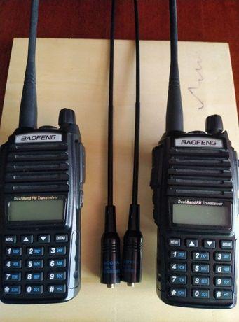 Продам две радиостанции Baofeng UV-82, 8 Ватт