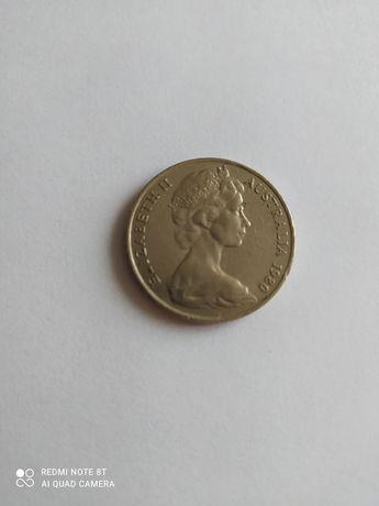 Австралія 20 центів 1980-81 р.