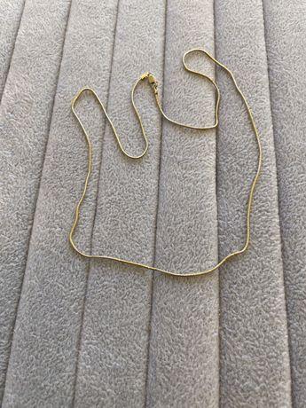 Złoty łańcuszek w. 5,400gr dl. 52 cm próba 585