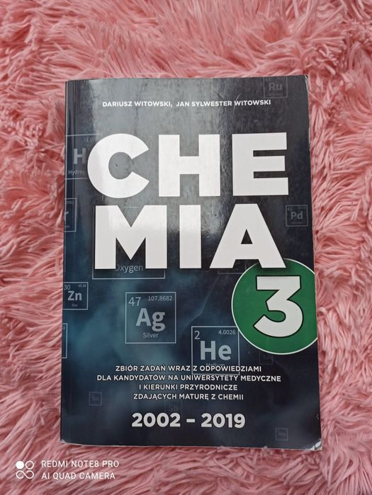 Chemia 3 zbiór zadań Witowski 2019 Wadowice - image 1