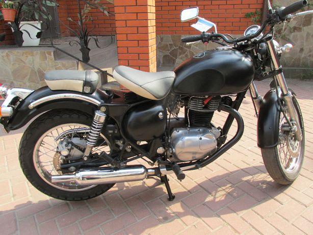 Японский мотоцикл KAWASAKI ESTRELLA без пробега по Украине растаможен