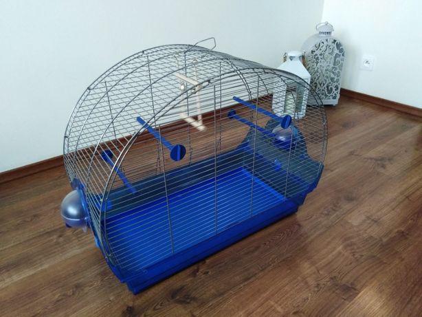 Klatka dla ptaków, papug sz35/dł68/wy54