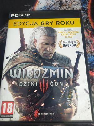Wiedźmin dziki gon 3 edycja gry roku PC