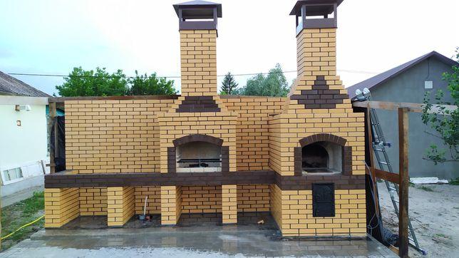 Барбекю Камин Беседка Навес Печник Услуги Строительство Дом Баня Сауна