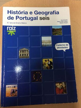 História e geografia de Portugal 6 - 6 ano
