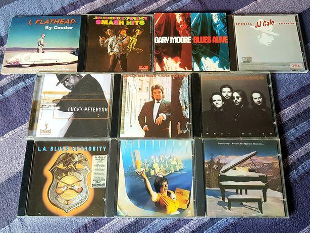 Lote de 10 CDs - Blues/Classic Rock (Portes Grátis)