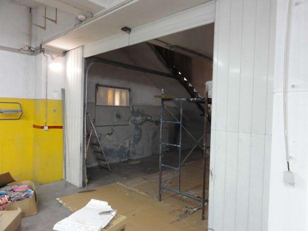 Portão seccionado para garagem altura 3m, largura 3m