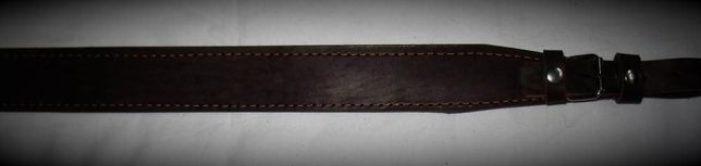 Ремень для охотничьего ружья кожаный