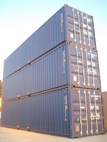 Contentores marítimos, frigoríficos, transformados e self-storage
