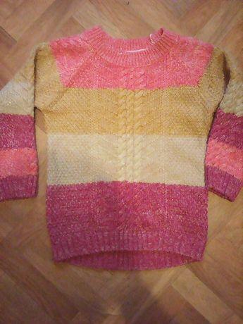 Nut Meg.Модный свитерок с люрексом без изъянов недорого 3-5 ЛЕТ.