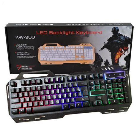 Игровая клавиатура с подсветкой LED GK-900 KW 900