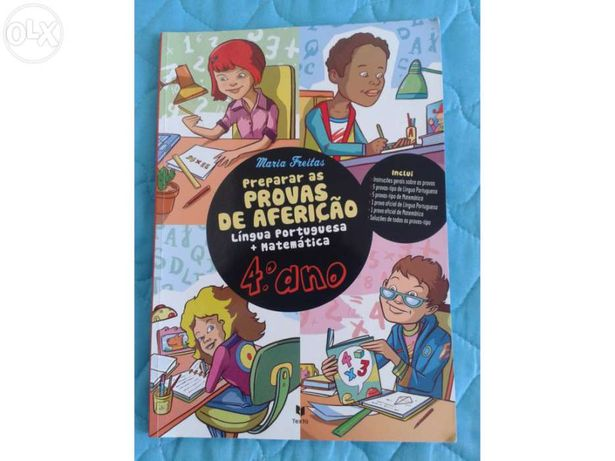 Preparar as Provas de Aferição Língua Portuguesa + Matemática 4º Ano