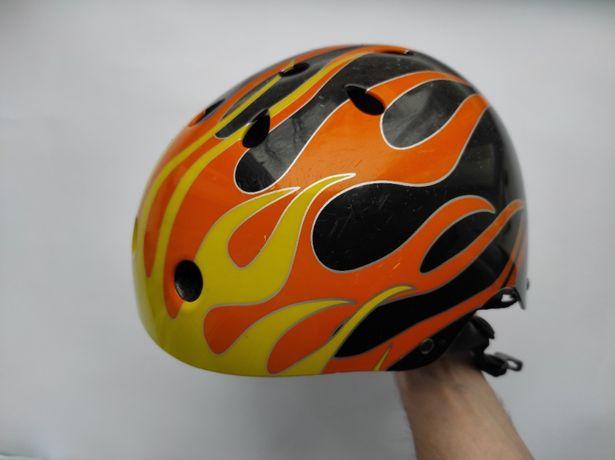 Защитный шлем котелок, размер М (54-58см), велосипедный, для роликов
