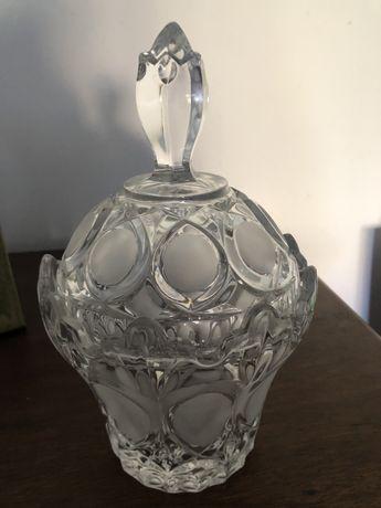 Taça cristal com detalhes