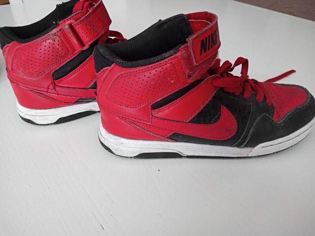 Buty Nike czerwono czarne 36
