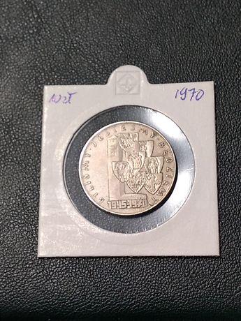 Moneta 10 złotych 1970 byliśmy jesteśmy będziemy
