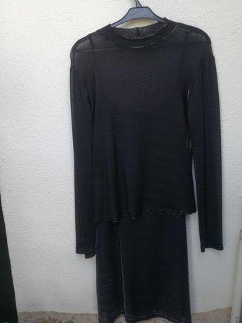 Vestido e túnica; saia e casaco  formais
