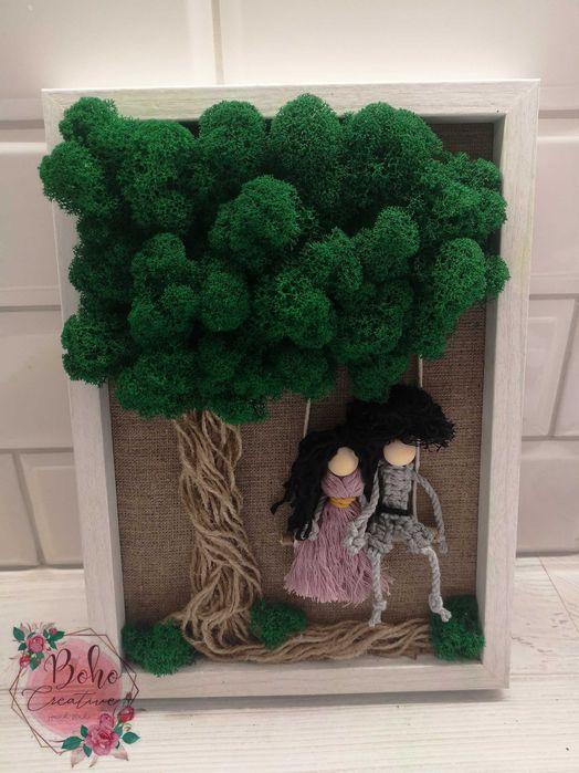 Obraz z mchu, drzewo, podziękowanie, ślub, różne okazje Gorzów Wielkopolski - image 1