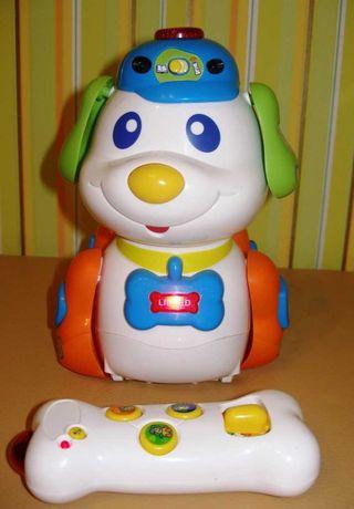 Интерактивная игрушка щенок Vtech Skippy - умный щенок