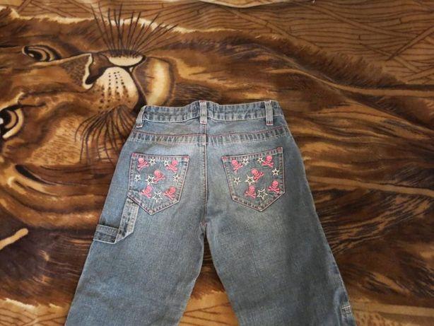 Штаны джинсы трансформеры бриджи 10-11 лет