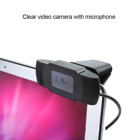Веб-камера HD 720p з мікрофоном , USB Webcam вебкамера вебка
