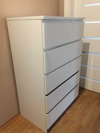 IKEA - KOMODA - MALM  (biały)