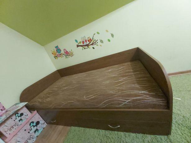 Łóżko z szufladami 195x94