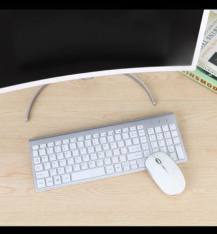 Клавиатура и мышь SeenDa 2.4G Wireless (рус. раскладка!)