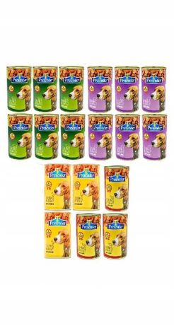 Karma1250g PRETENDER 44 %dla psa mix smaków18szt