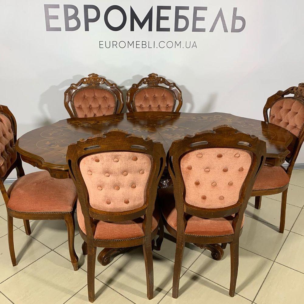 Стол обеденный , и шесть стульев