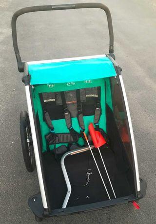 Przyczepka rowerowa Thule Chariot Lite 2, stan bdb