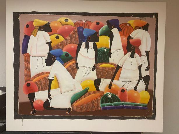 quadro tela caribe 100x120