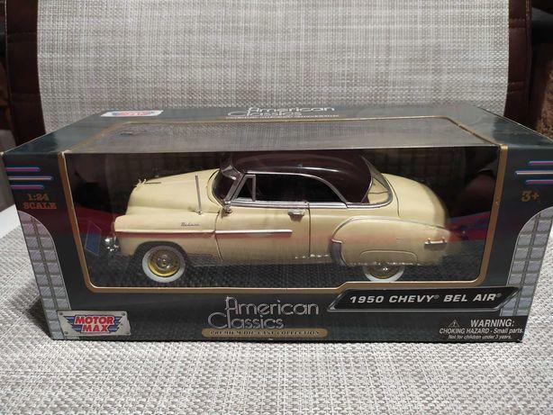 Chevy Bel Air 1950 Motor Max 1:24